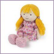 Лялька-грілка Кенді 40 см повністю нагрівається
