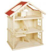 Ляльковий будиночок 3-поверховий