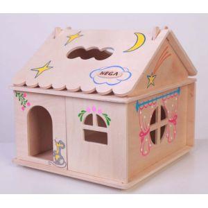 Ляльковий будинок з розписом