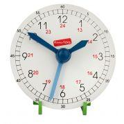 Годинник навчальний дерев'яний