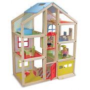 Будиночок Melissa & Doug Ляльковий з підйомником і меблями